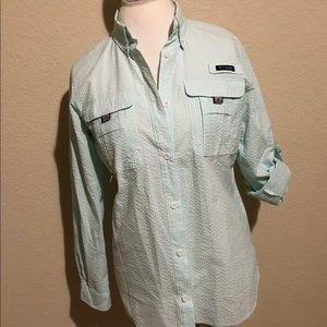 Columbia PFG Super Bahama Long Sleeve Shirt  NWOT